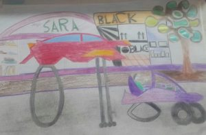 نقاشی بچه ها از آینده