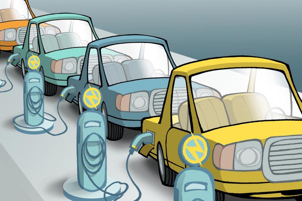 خودروهایی برقی آینده صنعت خودرو