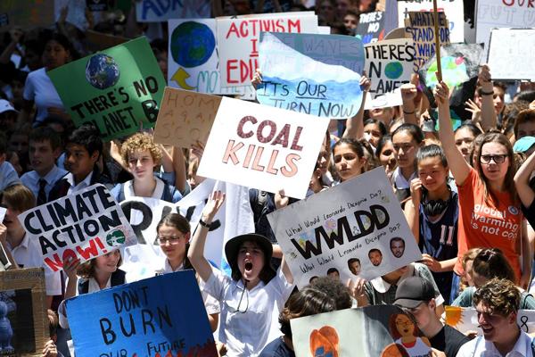 جنبش اعتصاب مدرسه در استرالیا