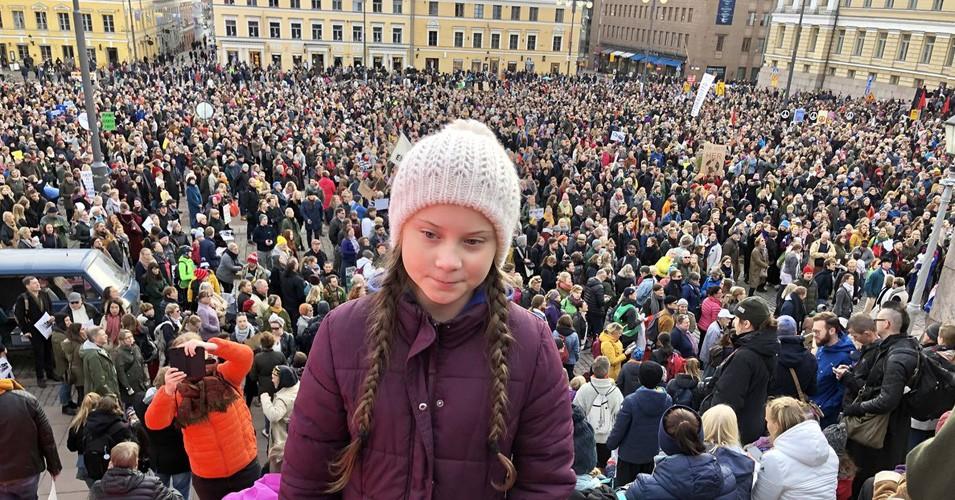 گرتا تونبرگ، جنبش برای تغییرات اجتماعی آینده