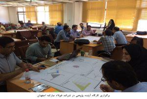 برگزاری کارگاه آینده پژوهی در شرکت فولاد مبارکه اصفهان