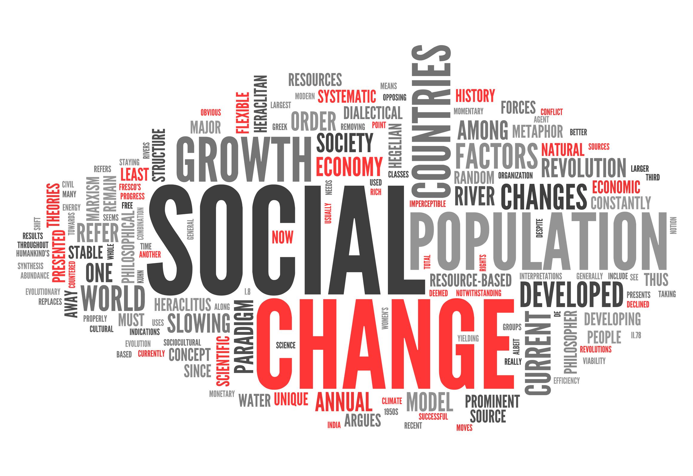 تغییرات اجتماعی
