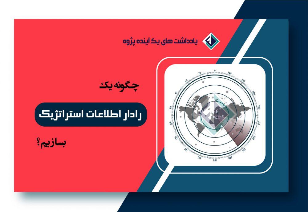 ساخت رادار اطلاعات استراتژیک